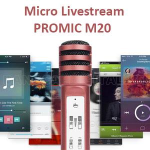 micro livestream chuyen nghiep promic m20 1